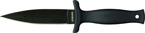 Schrade Large Boot Knife  Spear Point Fixed Blade TPE Handle