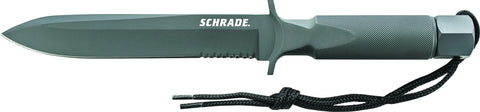 Schrade Large Extreme Survival One-Piece Drop Forged Spear Point Fixed Blade