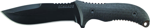 Schrade Extreme Survival Full Tang Drop Point Fixed Blade TPE Handle