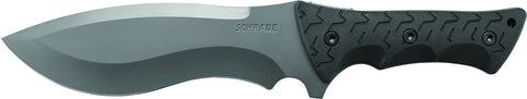 Schrade Little Ricky Full Tang Drop Point Re-Curve Fixed Blade Knife