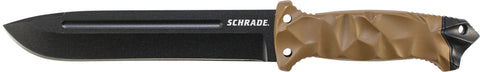 Schrade Large 3/4 Tang Drop Point Fixed Blade Knife