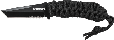 Schrade Full Tang Fixed Blade Neck Knife