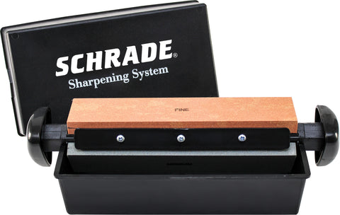 Schrade Whet-Hone 3 Way Sharpening System