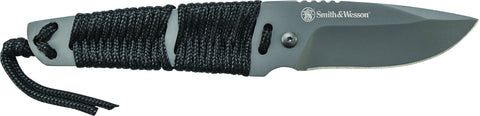 Smith & Wesson Full Tang Drop Point Fixed Blade Knife