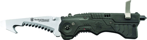 Smith & Wesson 3rd Generation 1st Response M.A.G.I.C. Assisted Opening Liner Lock Folding Knife & R