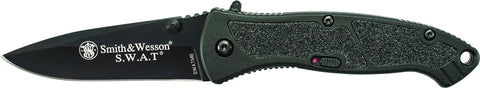 Smith & Wesson Medium S.W.A.T. M.A.G.I.C. Assisted Opening Liner Lock Folding Knife Drop Point Blad