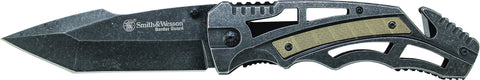 Smith & Wesson Liner Lock Tanto Folding Knife