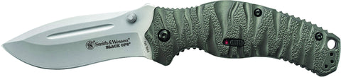 Smith & Wesson Black Ops M.A.G.I.C. Assisted Opening Liner Lock Folding Knife Drop Point Blade Alum