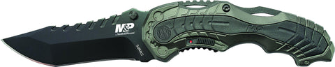 Smith & Wesson Military & Police M.A.G.I.C. Assisted Opening Liner Lock Folding Knife Clip Point Bla
