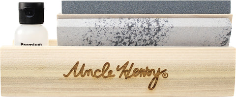 "Uncle Henry 6"" Tri-Hone Set, Coarse Stone"