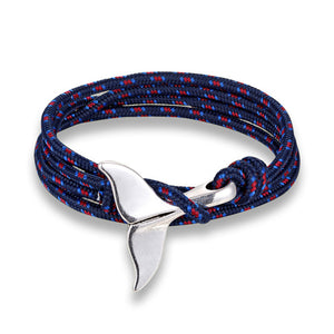Bracelet cordon queue de baleine mixte