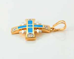 Jerusalem Cross Necklace