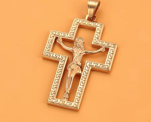 Cross Cut Out Necklace