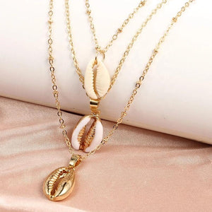 Muti layered Shell Necklace