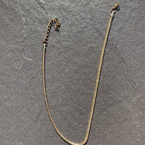 Gold snake chain chocker