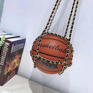 Basketball Handbag Chain Strap
