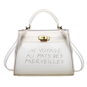 Cute PVC Transparent Clear Bag
