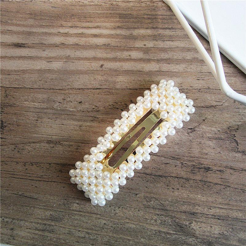 Rectangle Pearl Clip