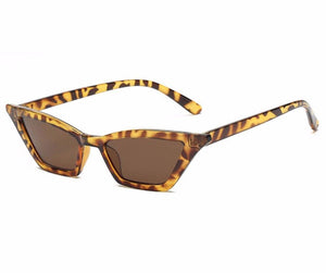Classic Leopard Print Cat Eye Sunglasses