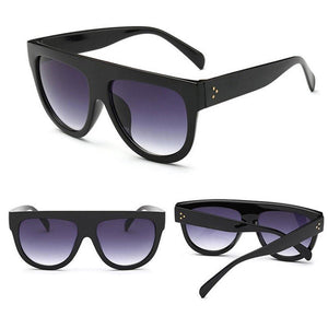 Tortoiseshell Flat Top Sunglasses