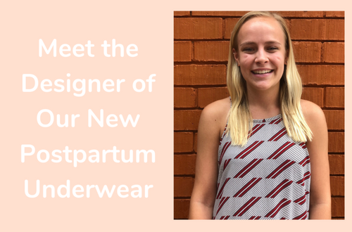 An Interview with Ashley Switzer, Designer of Our New Postpartum Underwear