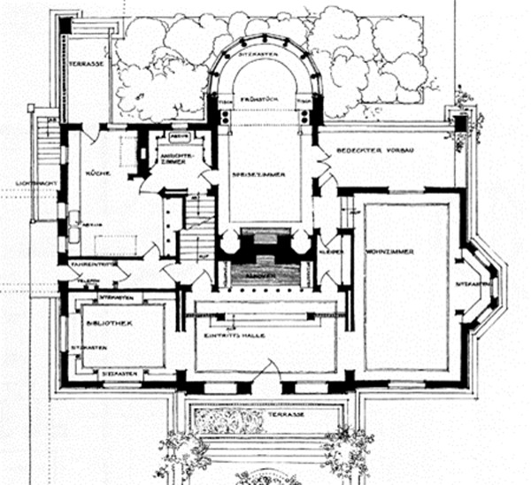 Winslow_House_Plan_600_grande?3639 the small house lab blog small house lab,Small Frank Lloyd Wright House Plans
