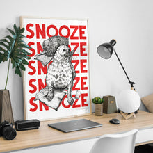 Load image into Gallery viewer, Snooze A5-A2 Fine Art digiprint