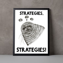 Load image into Gallery viewer, Strategies, Strategies A5-A2 Digital Fine Art Print SEAL Illustration