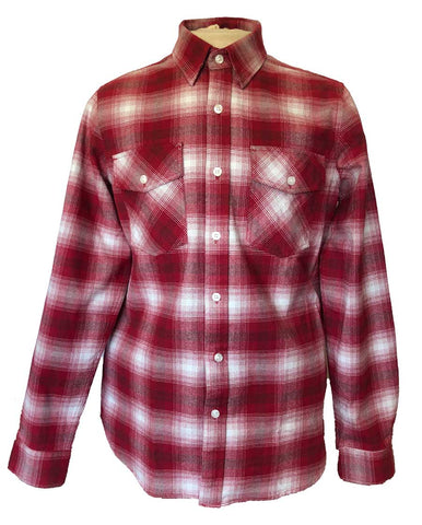 Mens Big Red antimicrobial flannel