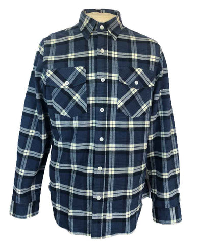 Men's Nitro Flannel shirt (Front View)