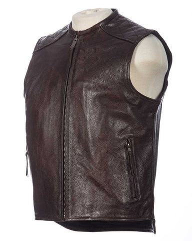 Bootlegger Leather Vest
