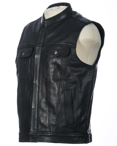 motorcycle club vest (front view)