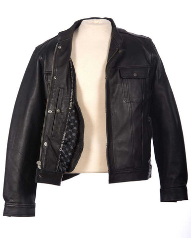 Motorcycle Jacket  (Front Open)
