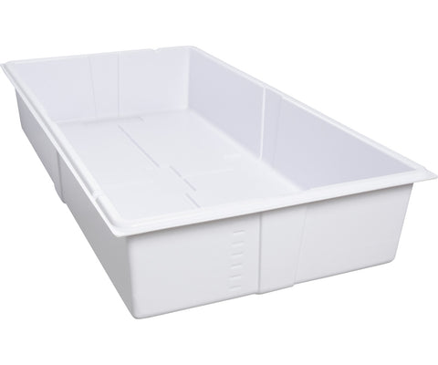 Active Aqua Premium Deep Flood Table, White, 2' x 4'