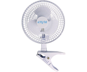 "Active Air 6"" Clip Fan, 15W"
