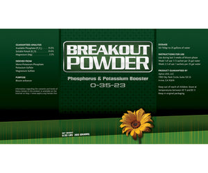Aptus Breakout Powder, 5 satchels per case