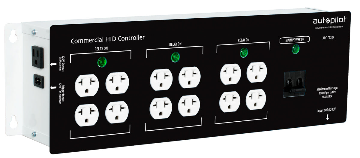 Autopilot Commercial High Power HID Controller, 12 Light