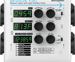 Autopilot REVOLVE F20 Repeat Cycle and Light Combo Timer