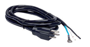 Power Cord, 8', 240V, AWG 16/3, Nema 6-15P, UL