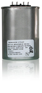 Capacitor, Metal Halide, 1000W/Wet 24 MFD/480 VAC MIN