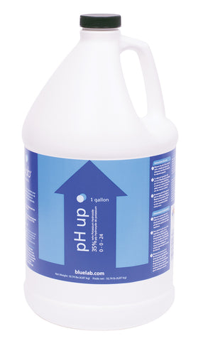 Bluelab pH Up, 1 gal Bottle, case of 4