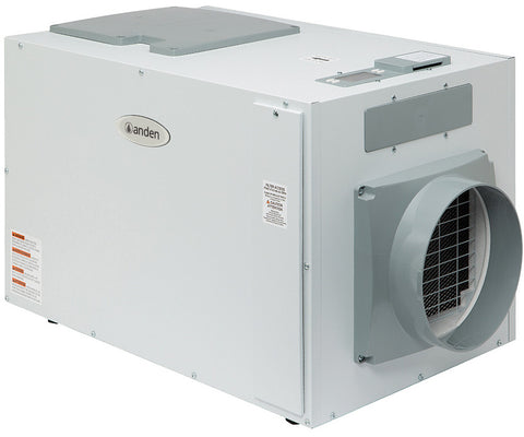 Anden Industrial Dehumidifier, 130 Pints/Day