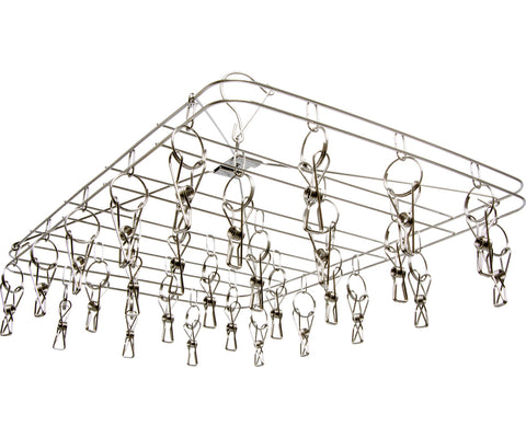 STACK!T Hanging Dry Rack w/28 Clips