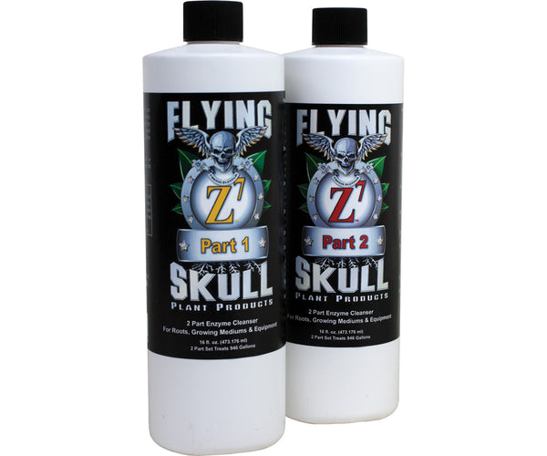 Flying Skull Z7 Enzyme Cleanser, 8 oz (part 1 & 2)