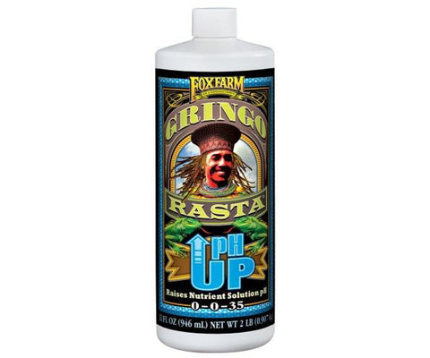 FoxFarm Gringo Rasta® pH Up Liquid, 1 qt