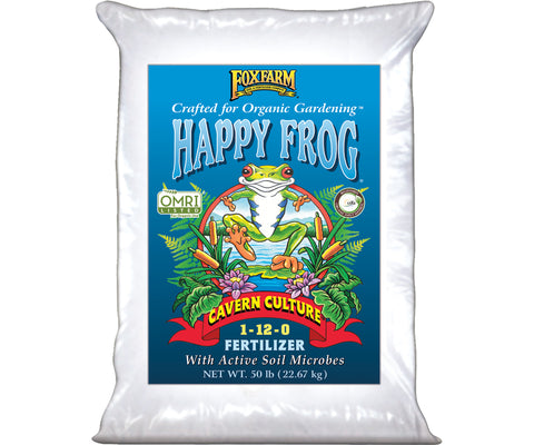 Happy Frog Cavern Culture Dry Fertilizer 50 lb bag