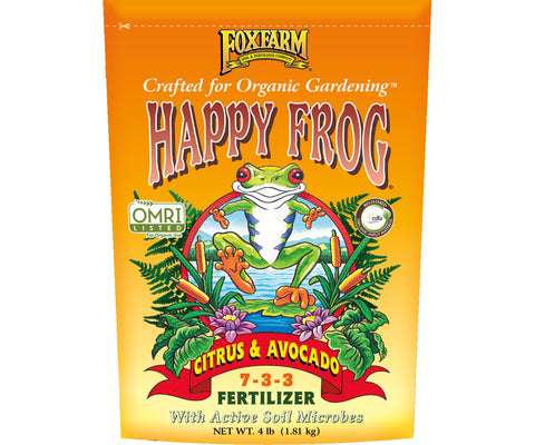 FoxFarm Happy Frog® Citrus & Avocado Fertilizer, 4 lb bag