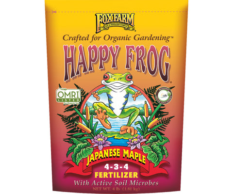 Happy Frog Japanese Maple Dry Fertilizer 4 lb bag