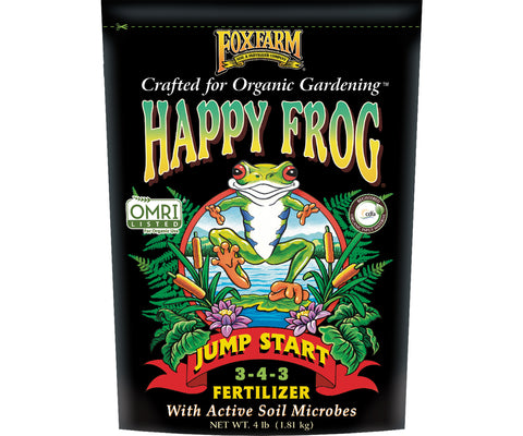 Happy Frog Jump Start Dry Fertilizer 4 lb bag