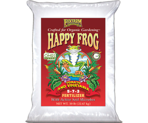 Happy Frog Tomato & Vegetable Dry Fertilizer 50 lb bag